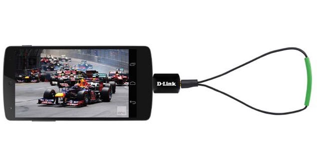 This tiny D-Link device is a digital TV tuner for your Android