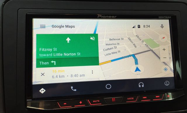 Our first look at the Android Auto in-car system in action
