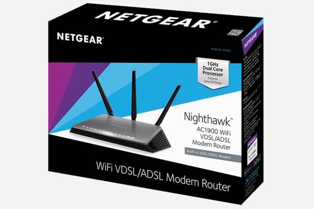 Netgear's new Nighthawk AC1900 combines a high-speed modem and