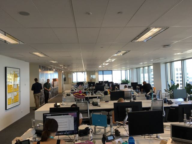 Take a look inside the new offices of Twitter Australia ...