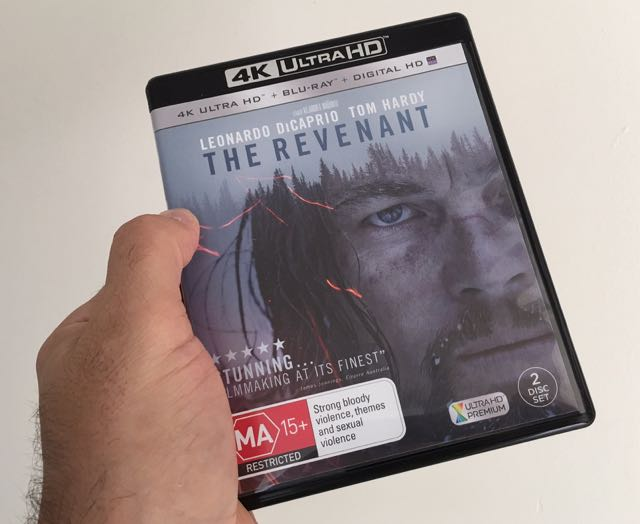 The Revenant on 4K Ultra HD provides a magnificent viewing