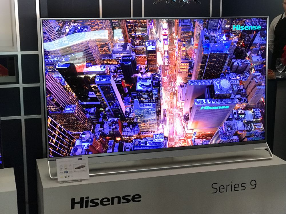 Hisense reveals Series 8 and Series 9 ULED pricing and