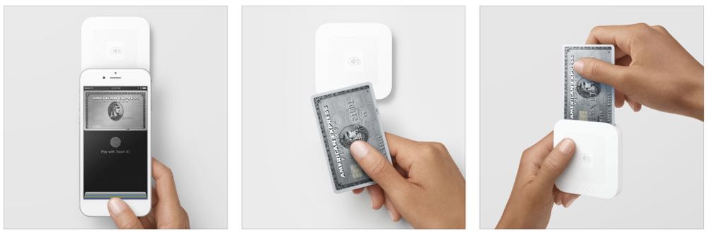 Square offers a simple tap and go payment system you can use