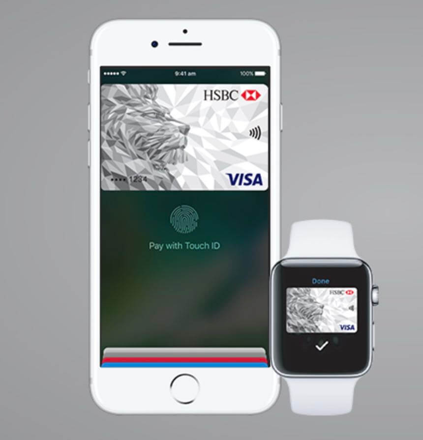 Apple pay now available for hsbc credit card customers tech guide hsbcapplepay1 thecheapjerseys Gallery