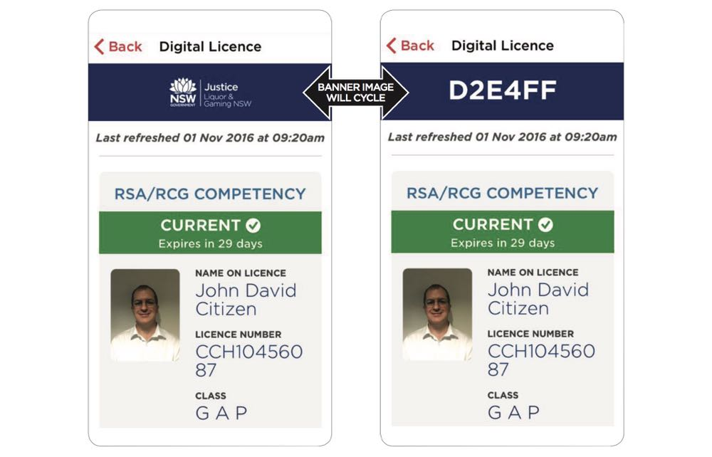 id number on drivers license nsw