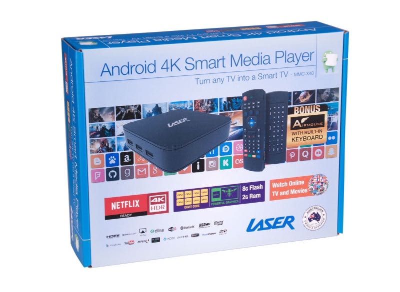 Laser 4K Smart TV Player review - bring a world of content