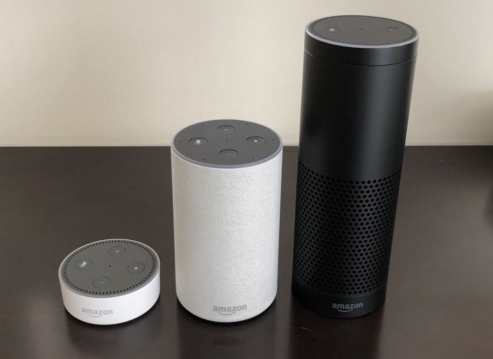 Amazon Echo speakers review - the power of Alexa to control